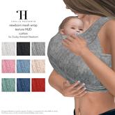 Thalia Heckroth - Zooby Animesh Newborn Mesh Wrap Texture HUD