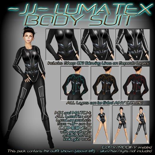 ~JJ~ LumaTex Body Suit (modest / full)