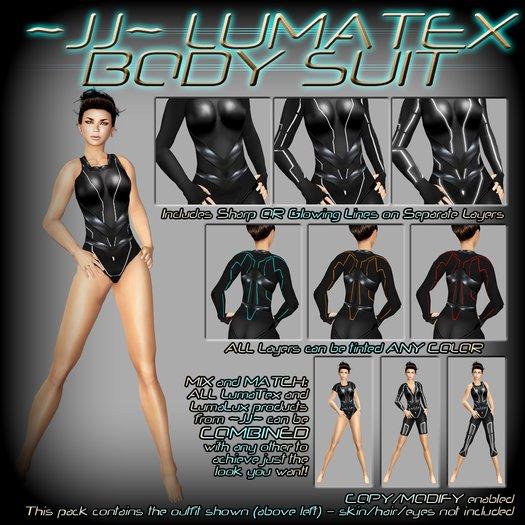 ~JJ~ LumaTex Body Suit (modest / swimsuit)