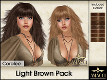 Amacci Hair ~ Coralee - Light Brown Pack
