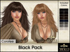 Hair coralee black