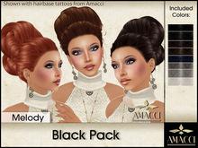 Amacci Hair ~ Melody - Black Pack