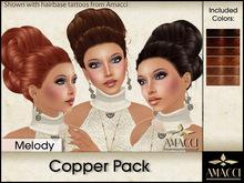 Amacci Hair ~ Melody - Copper Pack