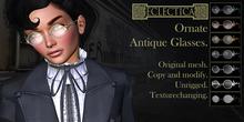 Eclectica Antique Glasses- ornate