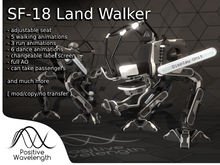 SF-18 - Land Walker - by Positive Wavelength