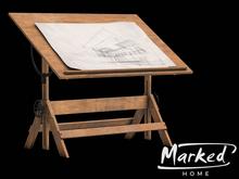 MARKED - Brady Drafting Table (light)
