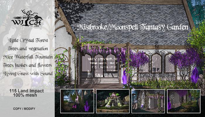 W&CO. Mistbrooke/Moonspell Fantasy Garden (boxed)