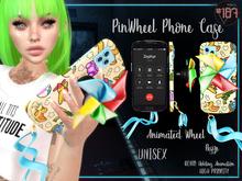 #187# PinWheel Phone Case *Holding*