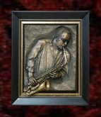 Wall Sculpture Art- Jazz Player