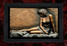Wall Sculpture Art- Silk