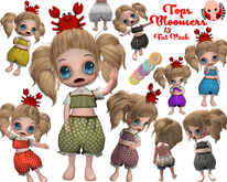 [ CHIBIT ] - Tops & Bloomers -  FAT PACK