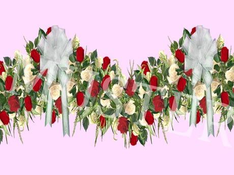 Rose Garland Red