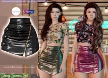 [Eternus] Daring Summer Skirt Black