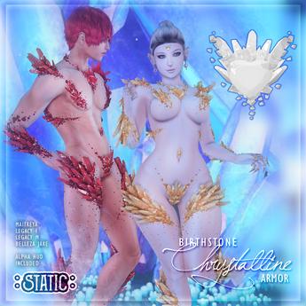 ::Static:: Chrystalline Armor (Diamond)