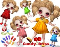 [ CHIBIT ] - Candy Dress - FAT PACK 10