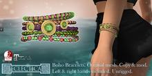 Eclectica Boho Bracelets- bright tropicals