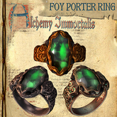 "(Copyable) ""Foy Porter"" Unisex Ring, Emerald (3 different metals) (WAS $475 -> NOW ONLY $120!)"
