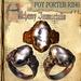 "(Copyable) ""Foy Porter"" Unisex Ring, White Quartz (3 different metals)"