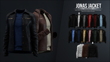 [Kauston] Jonas Jacket (Jckt:Black / Shrt:White)