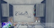 Allie Nicole-Salty Sweet  - Coffee Time Wall Decor   {ADD}