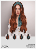 FAGA - HUD Unpack - Evelyn Hairstyle - [PRO PACK]
