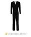 Classic Italia Suit (Black)