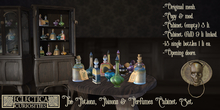 Eclectica Curiosities- Potions, Poisons & Perfumes Cabinet