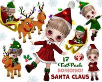 [ CHIBIT ] - Ho!Ho!Ho! Santa Claus - 17 FAT PACK