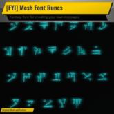 [FYI] Mesh Font Rune