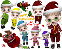 [ CHIBIT ] - Merry Christmas! - FAT PACK 17