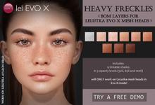Izzie's - Heavy Freckles (LeLutka Evo X)