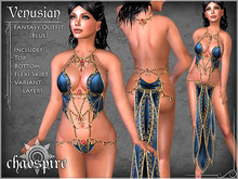 "Chaospire ""Venusian"" Fantasy Outfit (Blue)"