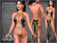 "Chaospire ""Venusian"" Fantasy Outfit (Black)"