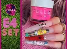 FULLE - E4 NAIL SET