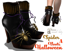 Halloween Spider Boots A