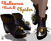 Halloween Spider Boots B