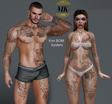 MK Tattoo - KIM- BOM SYSTEM - Unpack