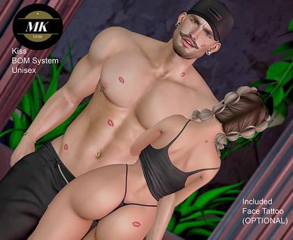 MK Tattoo -  Kiss - BOM System  - unpack