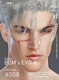 -[CL]- Face Scar  #008 - (CLA Bom & EVO X) **Unisex**