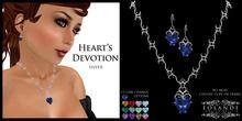 Eolande's Heart's Devotion Jewelry - silver