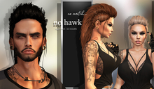 no.match_ ~ NO_HAWK ~ Pack of BLACKS