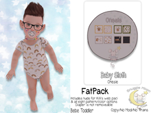 {SMK} Baby Sloth | Onesie | FATPACK