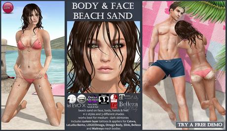 Izzie's - Body & Face Beach Sand