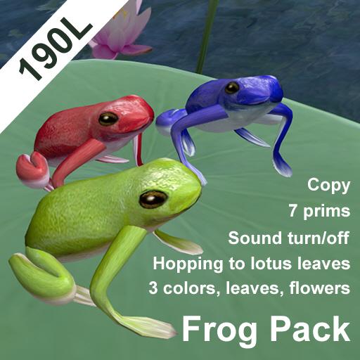 Hopping Frog Pack(copyable)