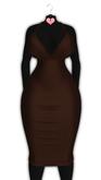 *CY* Ahlayisa . Chocolate . Dress // (Add)