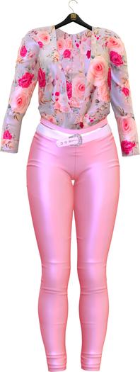 TO.KISKI - Asya Spring Outfits  - Pink & Roses (add me)