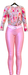 Asya spring outfits pink   roses cutout