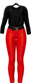 TO.KISKI - Asya Spring Outfits  - Red & Black (add me)
