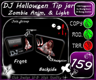 * New Halloween * DJ Tip jar  * Join Group * Animation *