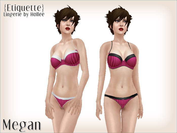 {Etiquette} Megan - Hot Pink
